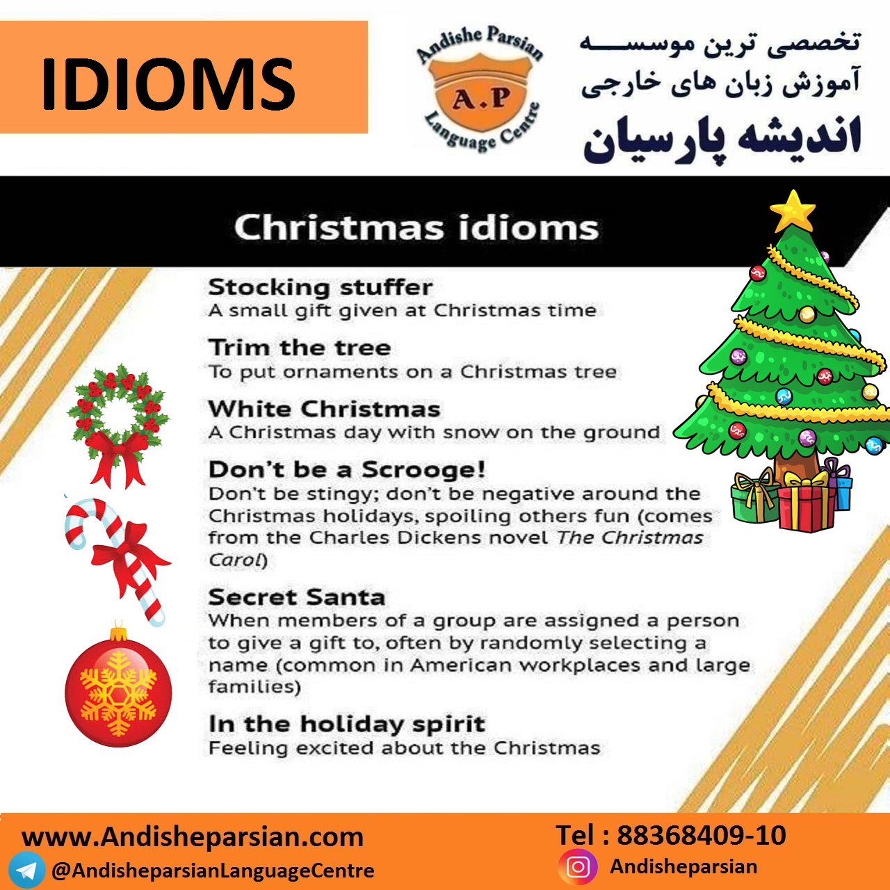 christman idioms - Christmas Idioms